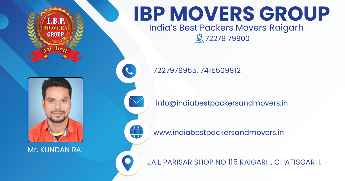 Packers Movers Raigarh